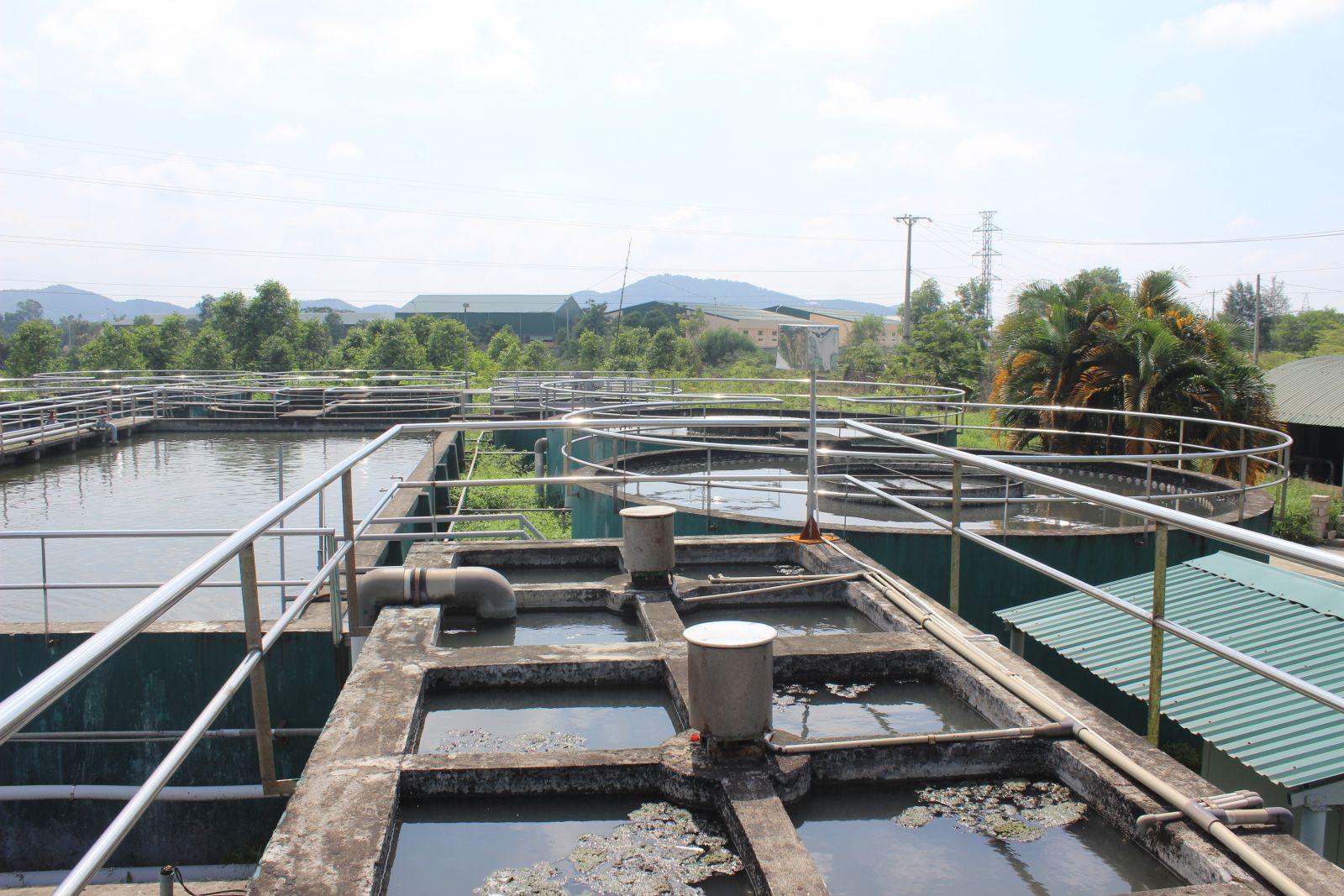 Dự án mở rộng nhà máy xử lý nước thải giai đoạn 2